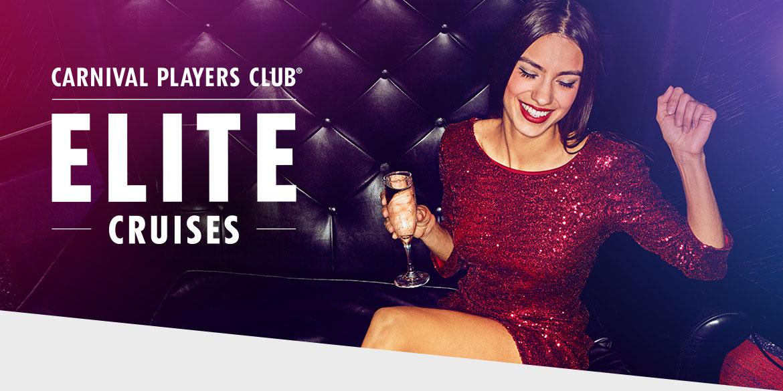 Carnival Players Club Elite Cruises