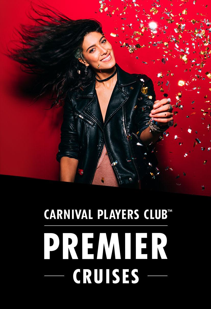 Carnival Players Club Premier Cruises